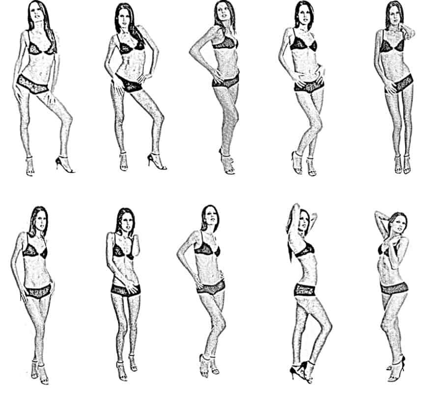 Conosciuto Il nudo: le pose - Fotografare in Digitale KX44