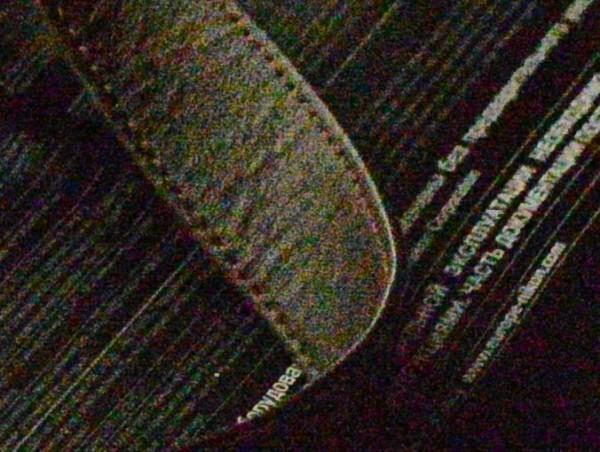 dettaglio D800 a ISO 25600