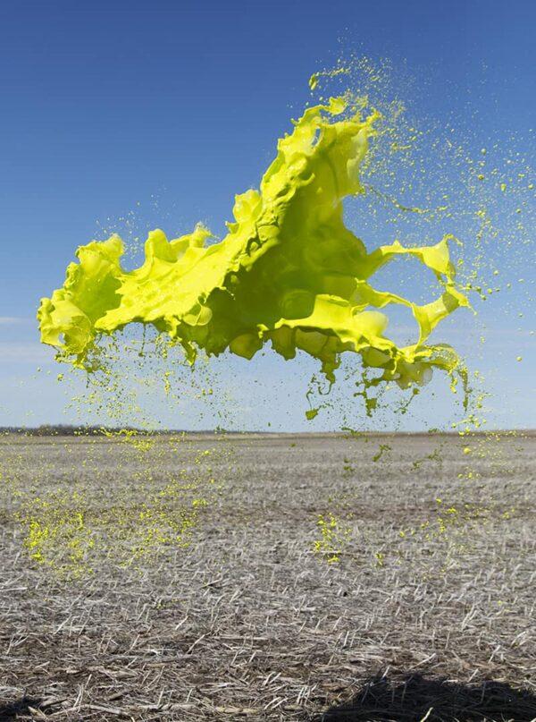 schizzi colorati