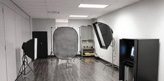 dimensioni di uno studio fotografico