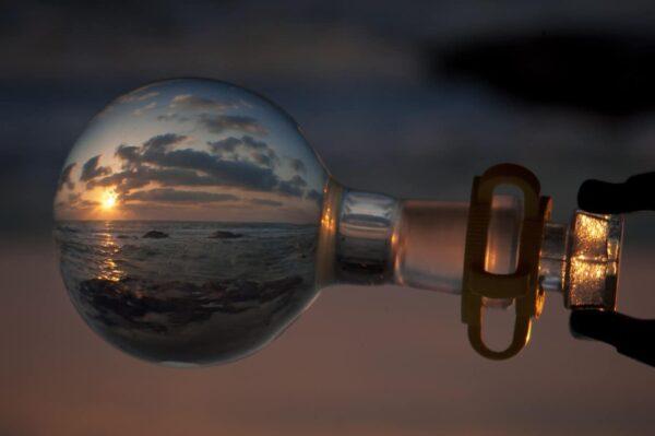 riflessioni sfera di cristallo