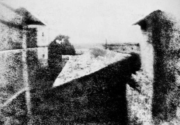 La prima foto della storia - Joseph Niepce