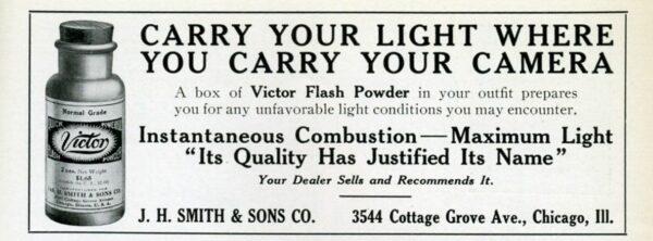 la storia del flash in fotografia