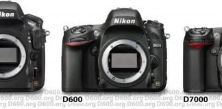 d600 d800 d7000 nikon