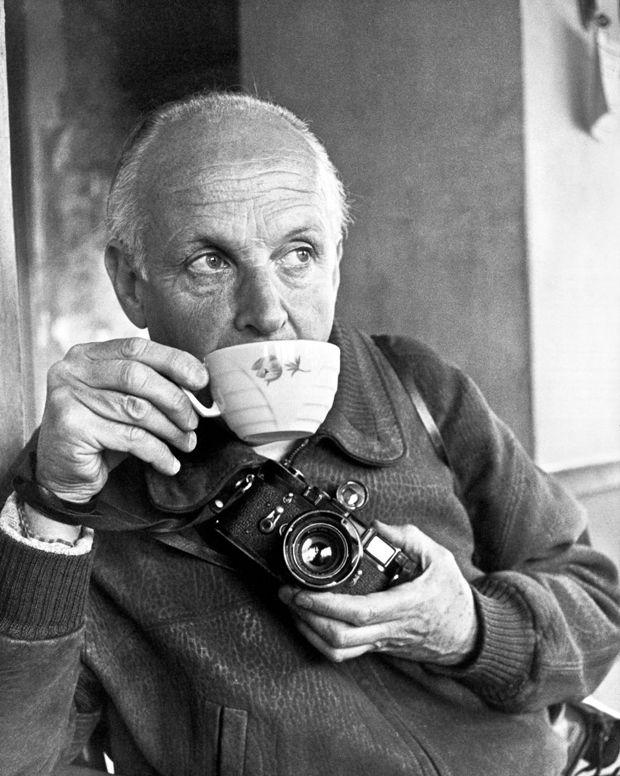 Henri Cartier Bresson-autoritratto