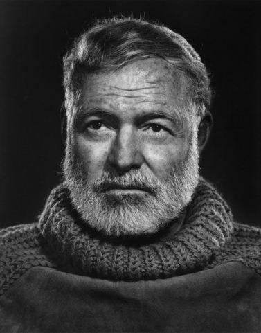 Karsh - Ernest Hemingway