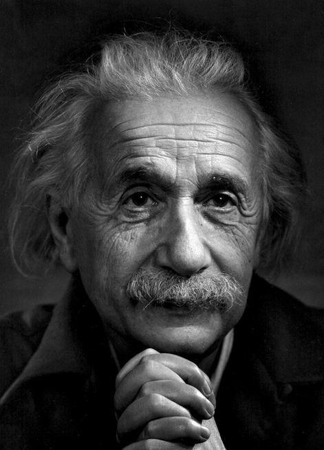 Karsh - Einstein