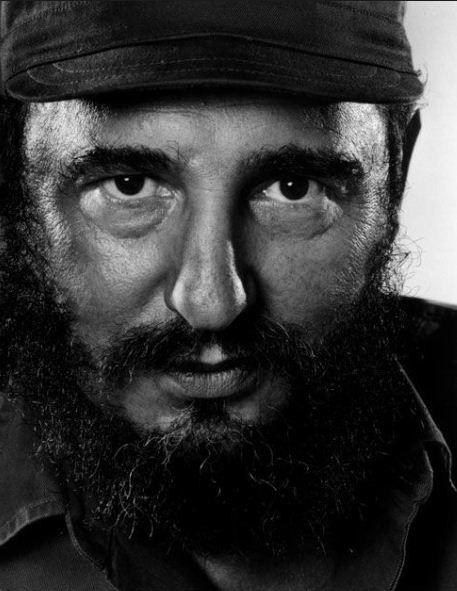 Karsh -  Fidel Castro