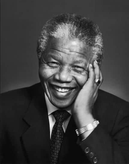 Karsh  - Mandela