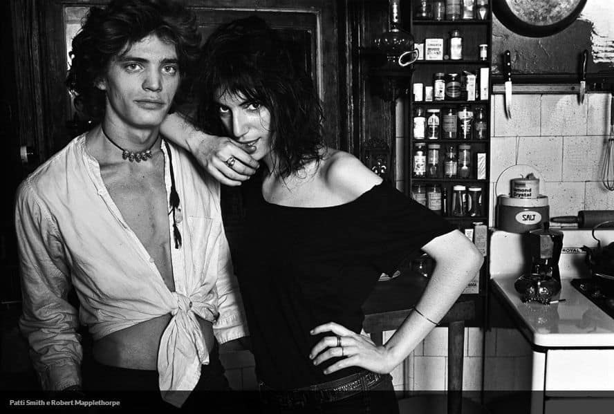 patti smith e MApplethorpe