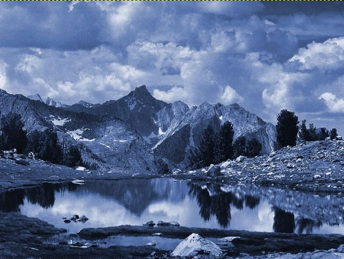 Ansel Adams - Viraggio al ferro