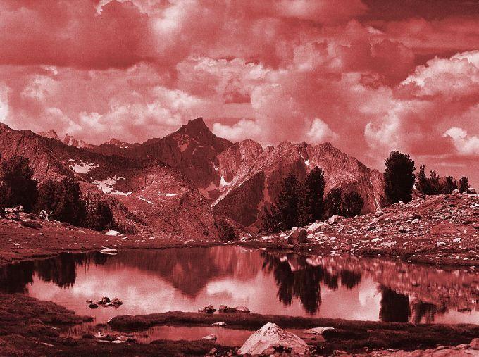 Ansel Adams - Viraggio seppia e oro