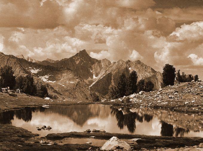 Ansel Adams - Viraggio Seppia