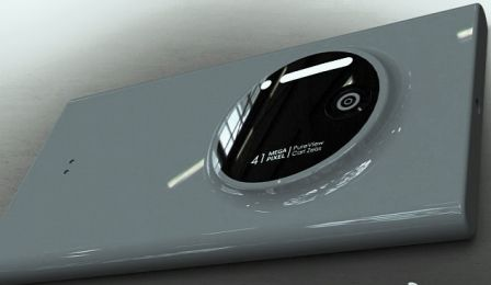 Nokia Lumia 1020 Back camera