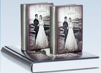 Un fotolibro creato per un matrimonio