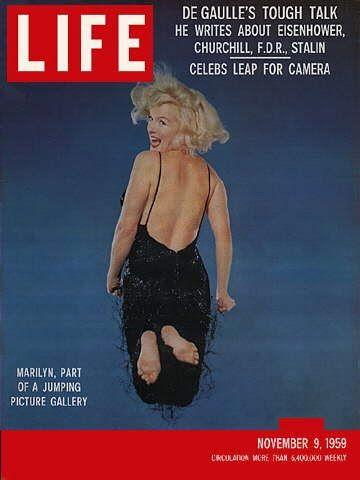 Marylin Monroe sulla copertina di Life