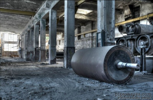fotografie fabbriche abbandonate