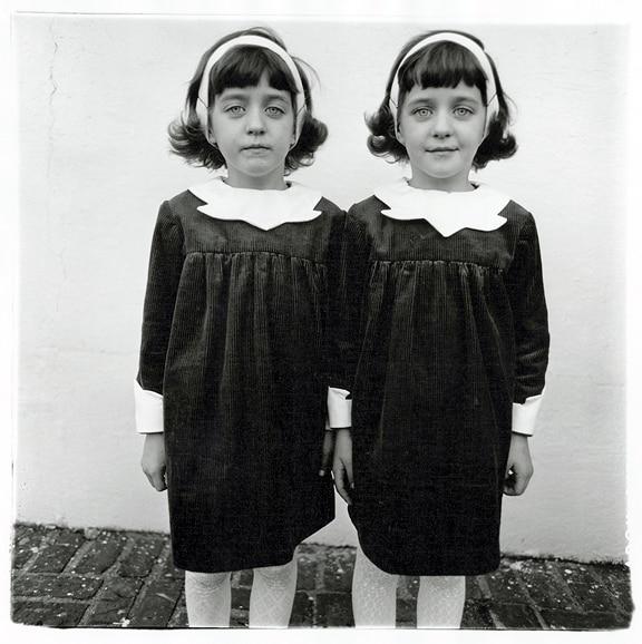 Diane Nemerov Arbus gemelle