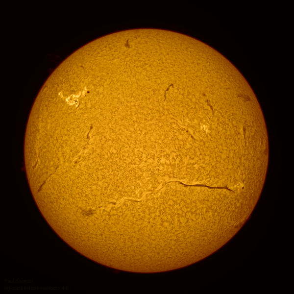 fotografare il sole