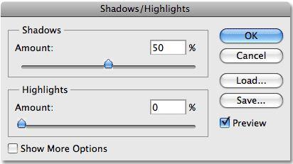 shadows highlights