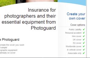 assicurazione attrezzatura fotografica