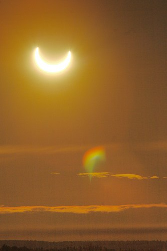 fotografare un'eclisse solare