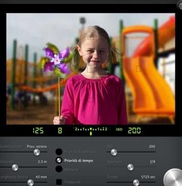 simulatore di fotografia