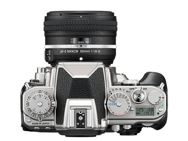 Nikon DF - tracollo delle vendite delle reflex