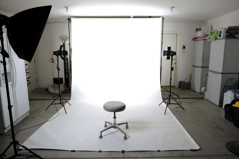 Studio fotografico per il ritratto fatto in casa e le tecniche di