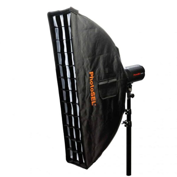 strip softbox per studio fotografico