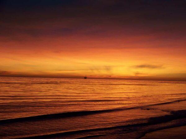 tramonto nuvole