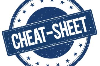 Cheat Sheet Fotografici