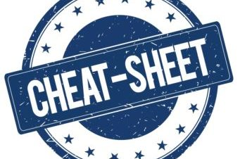 Cheat Sheet Fotografici