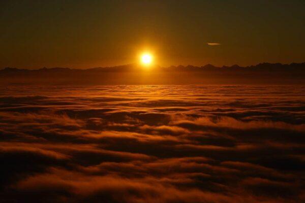 fotografare la nebbia
