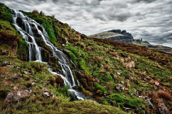 fotografare le cascate