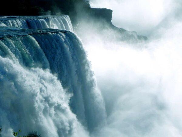 fotografare cascate