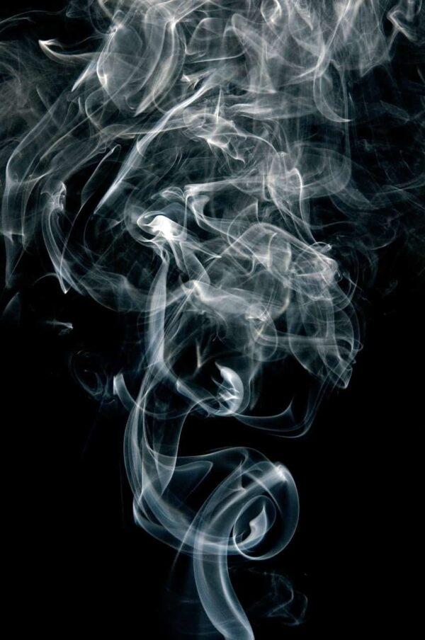 fotografare il fumo