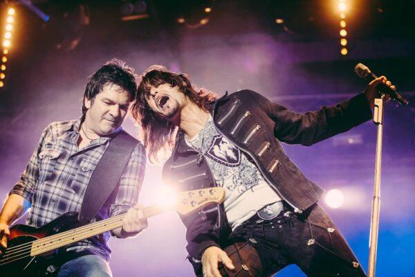 fotografare un concerto rock
