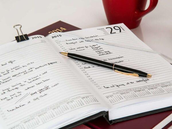 scrivere un diario