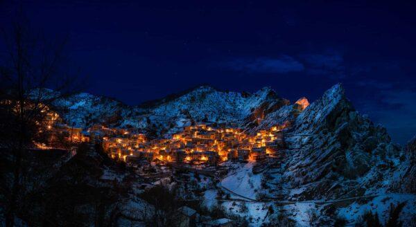 castelmezzano, italy, village
