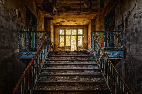 stairs, emergence, gradually