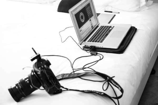 fotografare in tethering