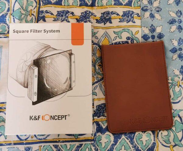 filtro graduato ND8 K&F Concept