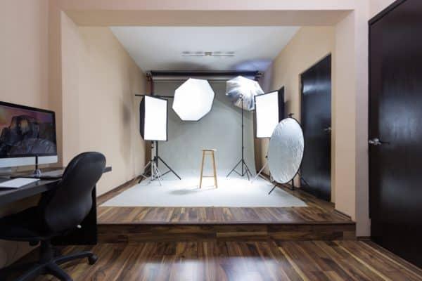 studio fotografico, riflettore