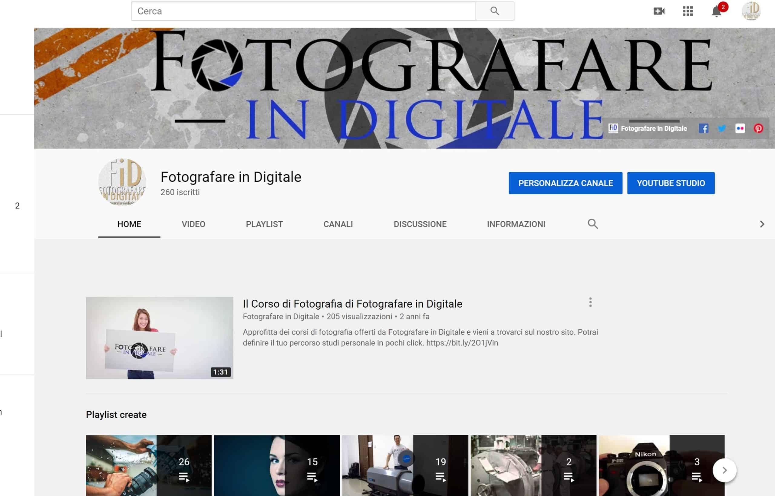 barra youtube