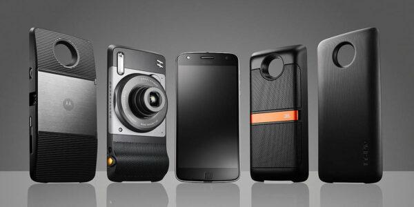 motorola mods - telefono a lenti intercambiabili