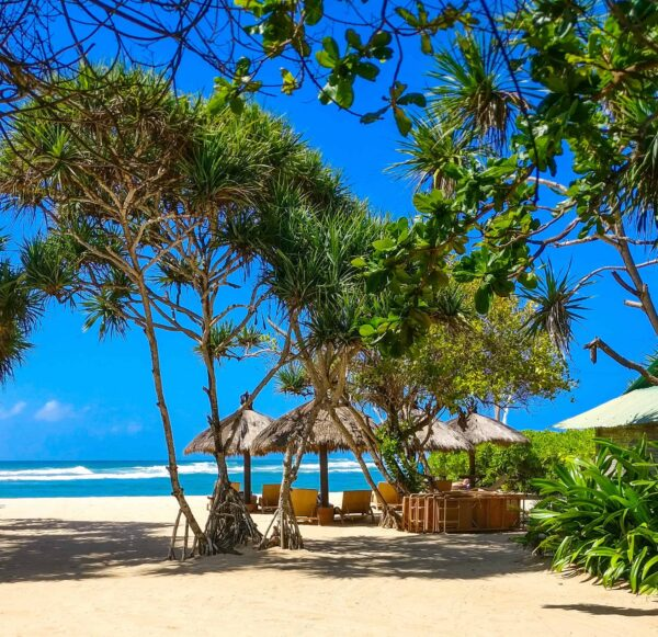 Capturing the peace and quiet as I walked along the beach in Nusa Dua, Bali.