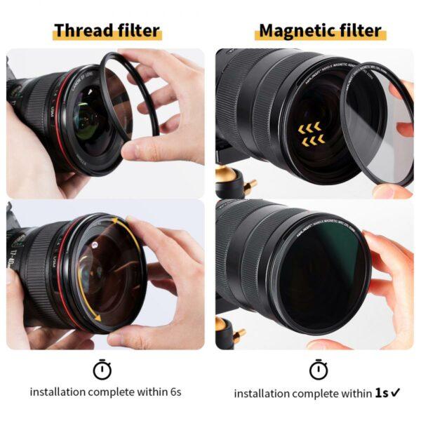 K&F Concept filtri magnetici